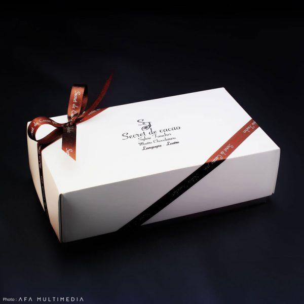 Ballotin de chocolats Sylvie Faucher
