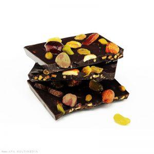 Chocolat noir fantaisie
