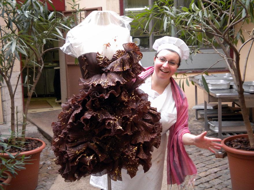 Robe en Chocolat -Secret de Cacao
