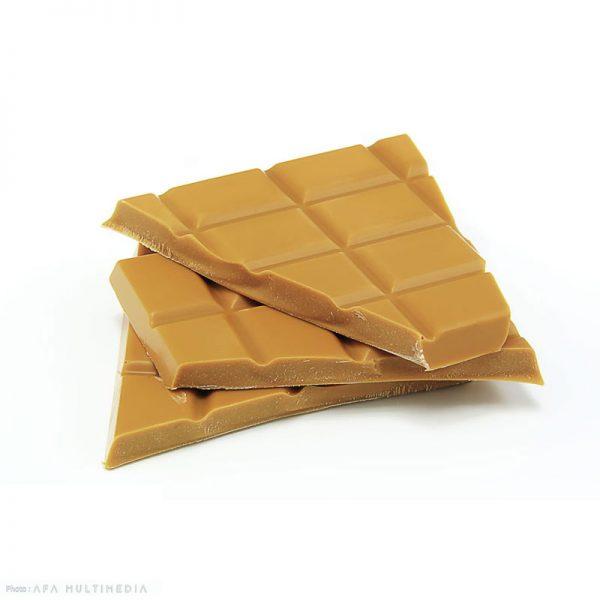 Texture chocolat blanc et caramel