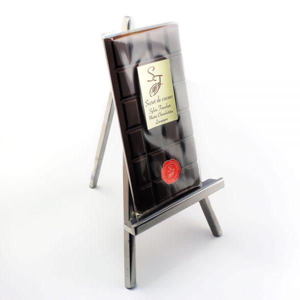 Tablette chocolat noir Sylvie Faucher, Langogne
