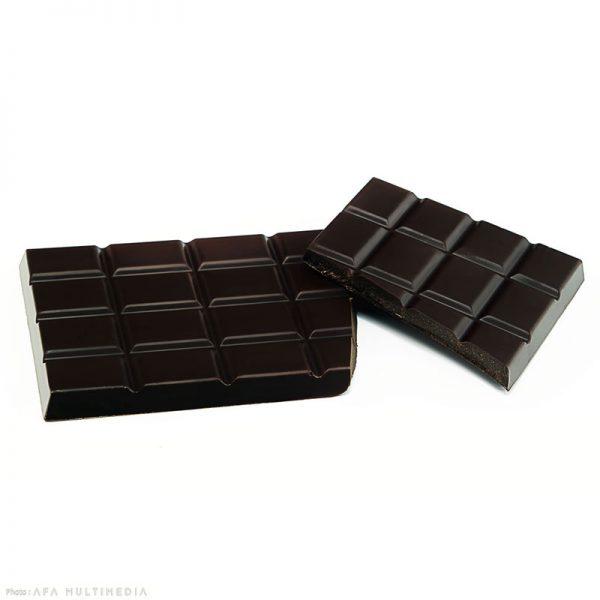 Tablette chocolat noir Sylvie Faucher