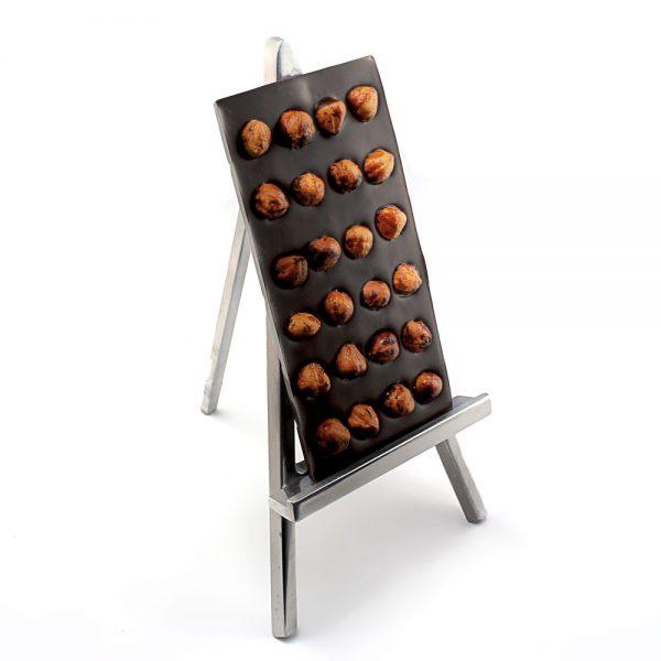 Tablettes noisettes au chocolat noir